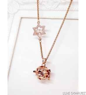 Starry Love Spell Diffuser Necklace