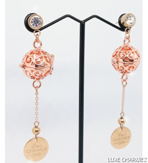 Champagne Diffuser Earrings