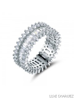 Trinity Ring | Clear Crystal