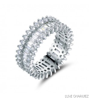 Trinity Ring   Clear Crystal  (Pre- Order)