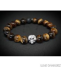 Lion Eye Diffuser Bracelet (10mm beads)