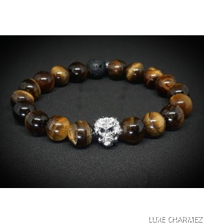Lion Eye Diffuser Bracelet (10mm beads)