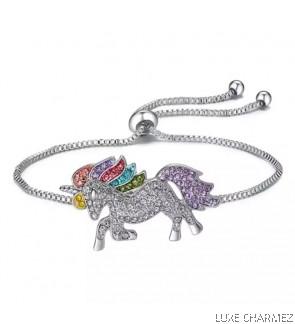 Rainbow Unicorn Bracelet (Pre-Order)