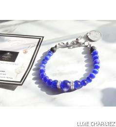 Artemis Diffuser Bracelet | Agate & Lava