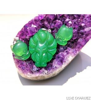 Missy Green Foxxy   Chalcedony Crystal