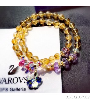 Wealth Powerstone Bracelet | Citrine