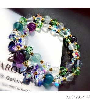Health Powerstone Bracelet | Fluorite
